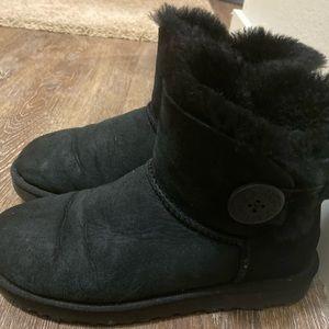 Ugg black women short boots